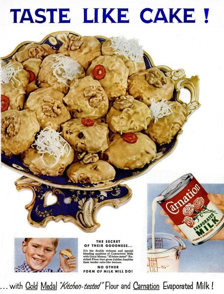 Mar 7, 1955 - Vintage cookies - Jubilee Jumbles recipe