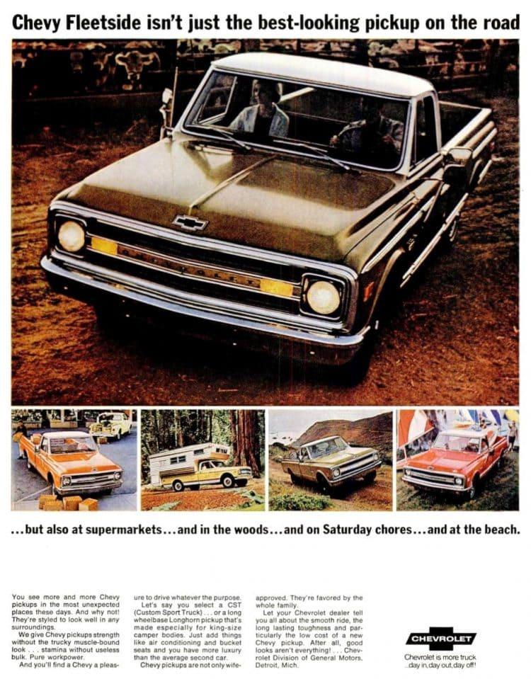 Mar 7, 1969 Chevy Fleetside pickup