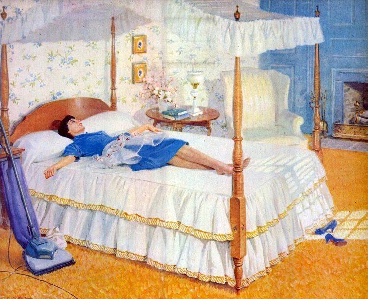 Mar 9, 1959 Bedroom home carpet