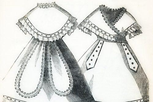 Marie Antoinette dress sewing pattern