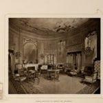 Marie Antoinette room at the Waldorf in 1903