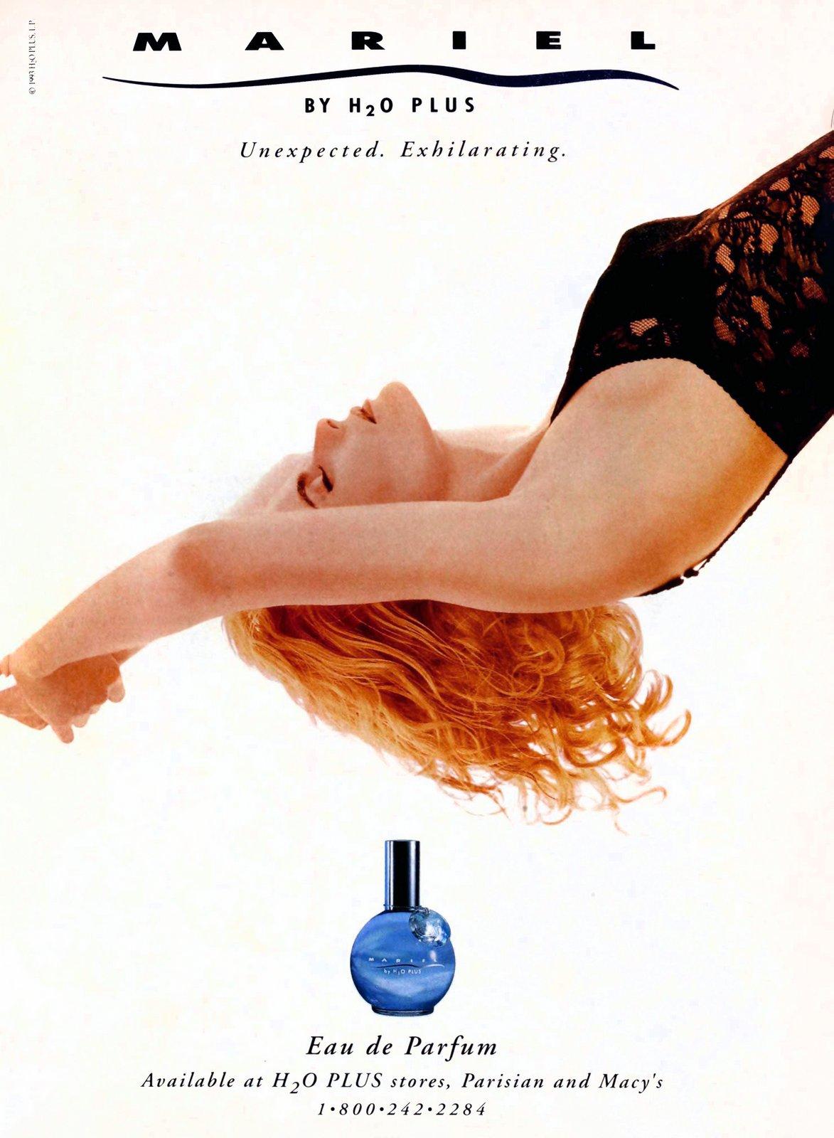 Mariel eau de parfum by H20 Plus - from actress Mariel Hemingway (1993) at ClickAmericana.com