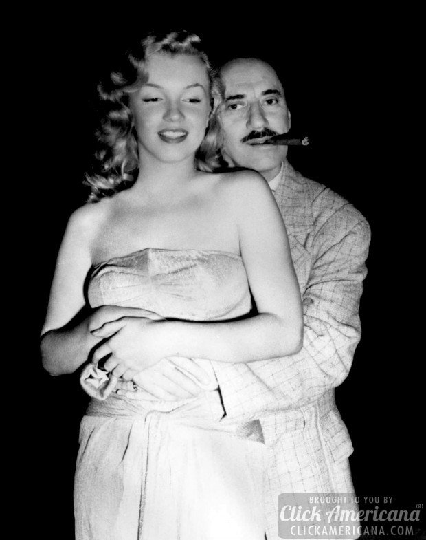 Marilyn-Monroe-and-Groucho-Marx-Love-Happy