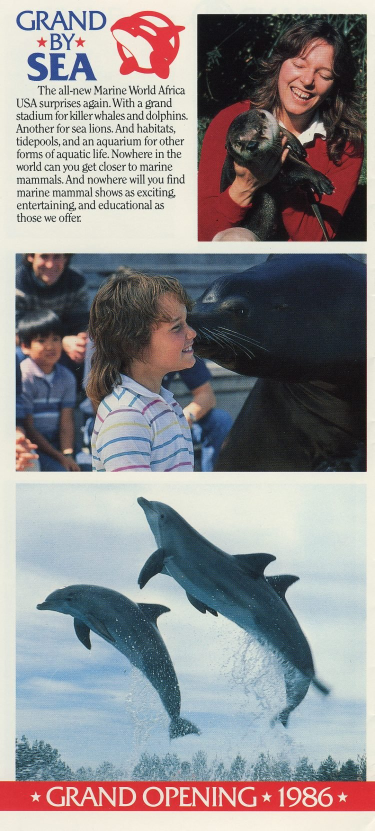 Marine World Africa USA - Grand Opening brochure 1986 (1)