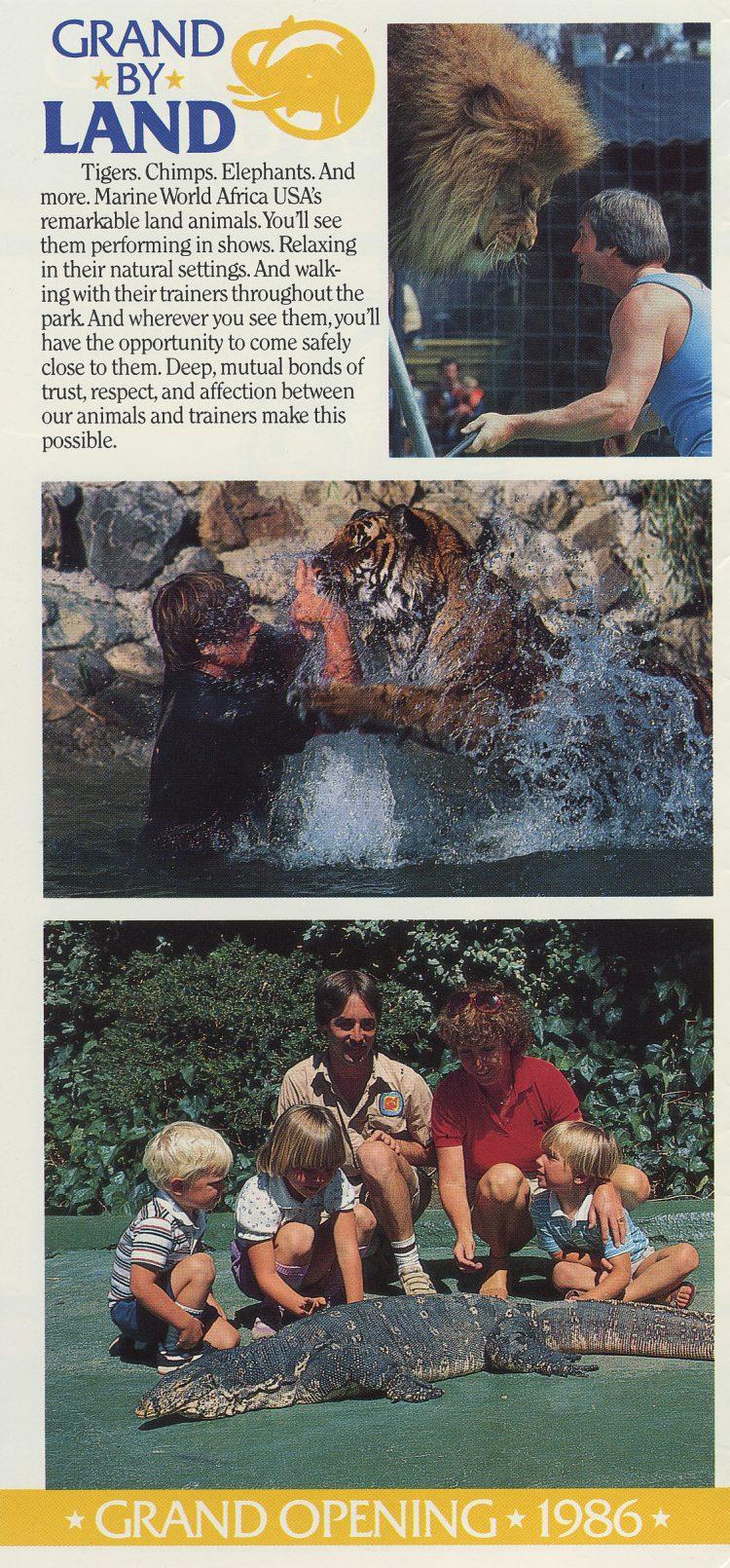 Marine World Africa USA - Grand Opening brochure 1986 (3)