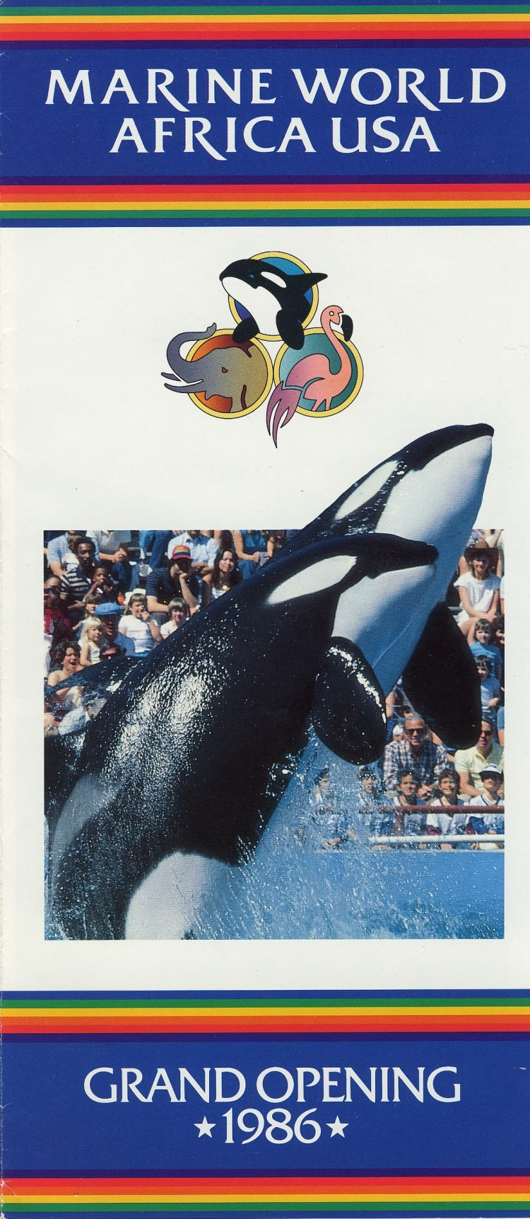 Marine World Africa USA - Grand Opening brochure 1986 (4)