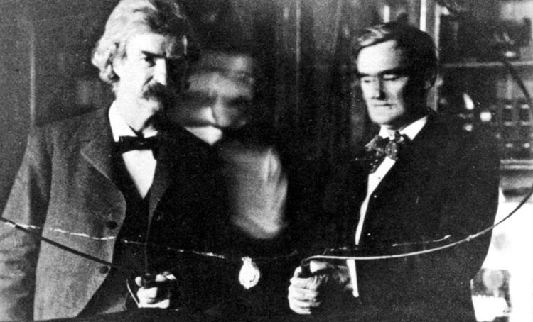 Mark Twain - Samuel Clemens - Nikola Tesla