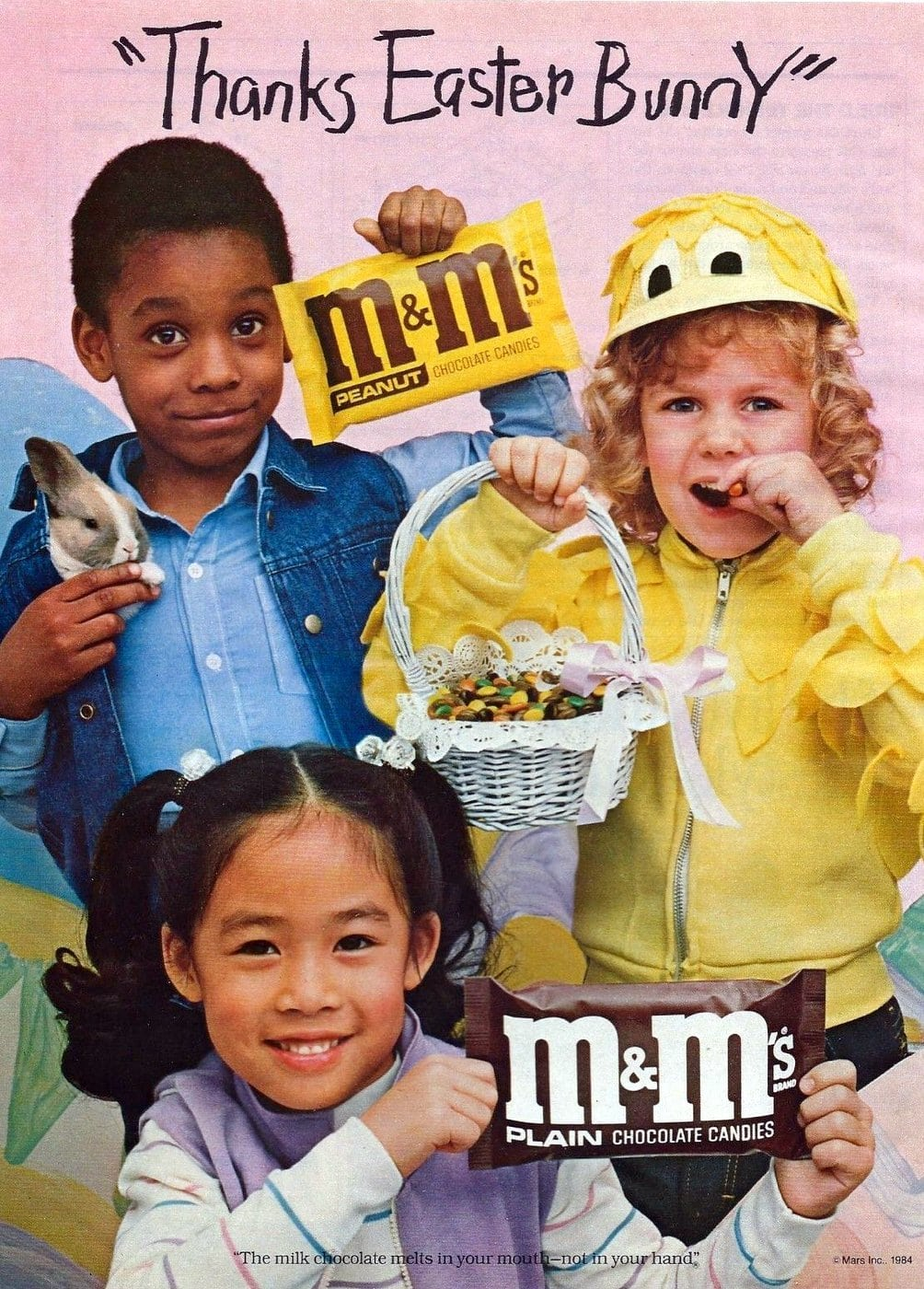 Mars mms for Easter (1984)