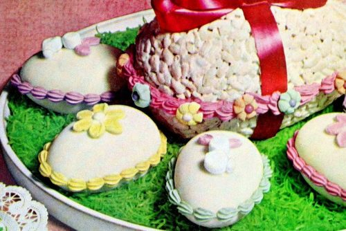 Marshmallow Easter treats little eggs