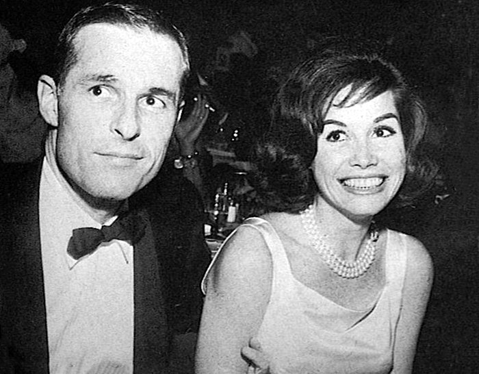 Mary Tyler Moore and Husband, Grant Tinker
