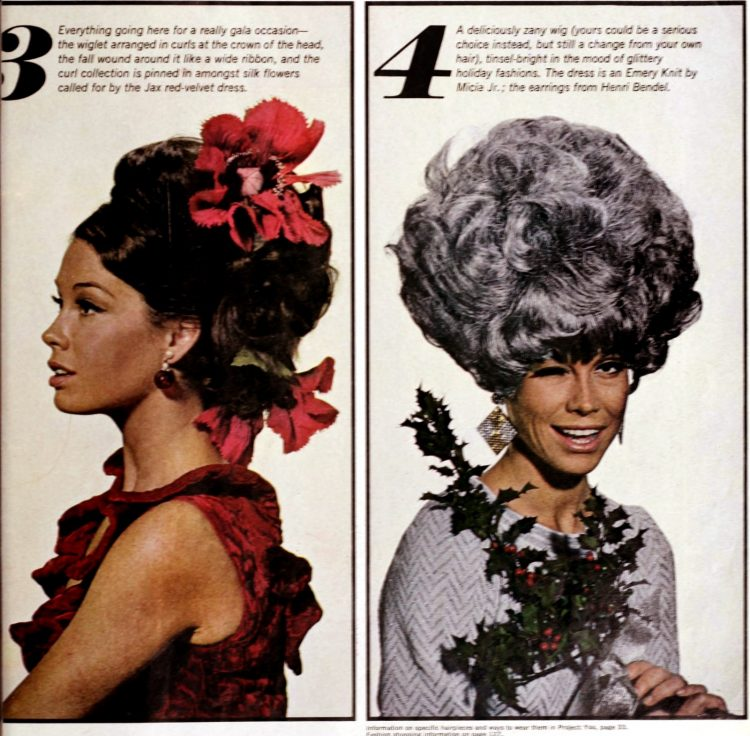 Mary Tyler Moore models the era's hottest wigs 1966 (4)