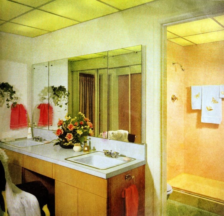 Master bathroom - Vintage sixties Scholz Mark 60 house