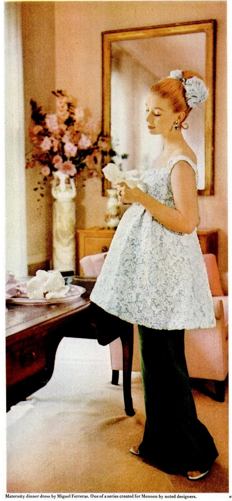 Maternity outfit from the 50s