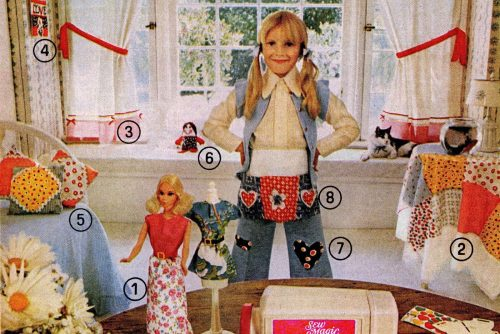 Mattel's Sew Magic working toy sewing machines for kids (1970s)