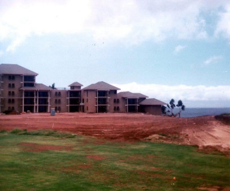 Maui Hawaii - The original Kapalua Bay Hotel under construction - 1970s (5)