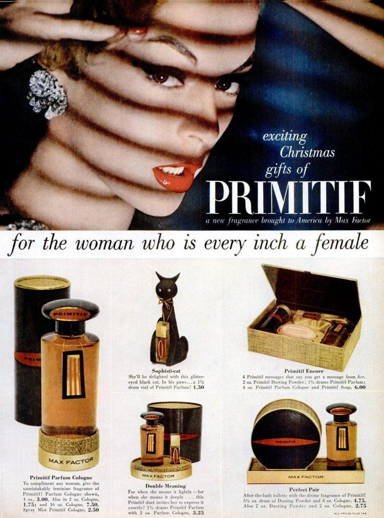 Max Factor Primitif gift set 1956
