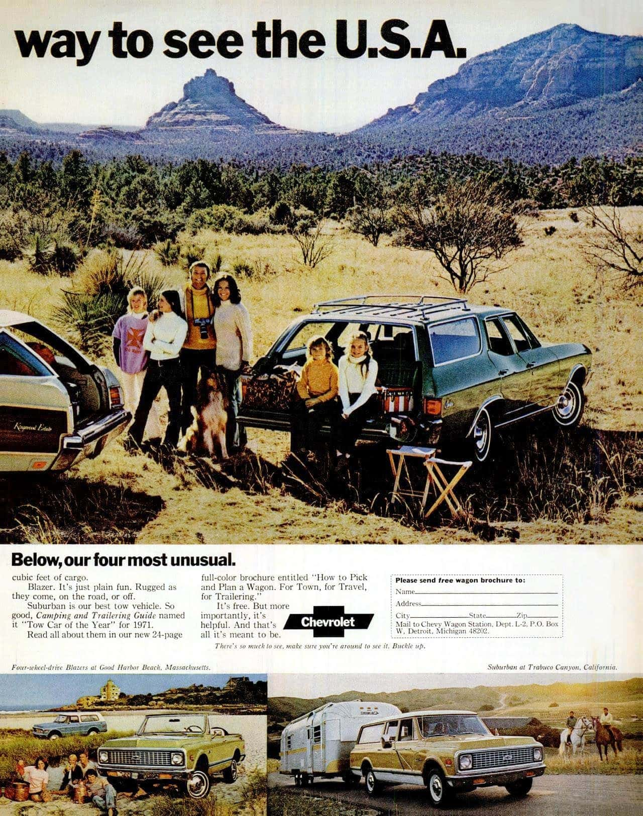 '72 Chevrolet station wagons