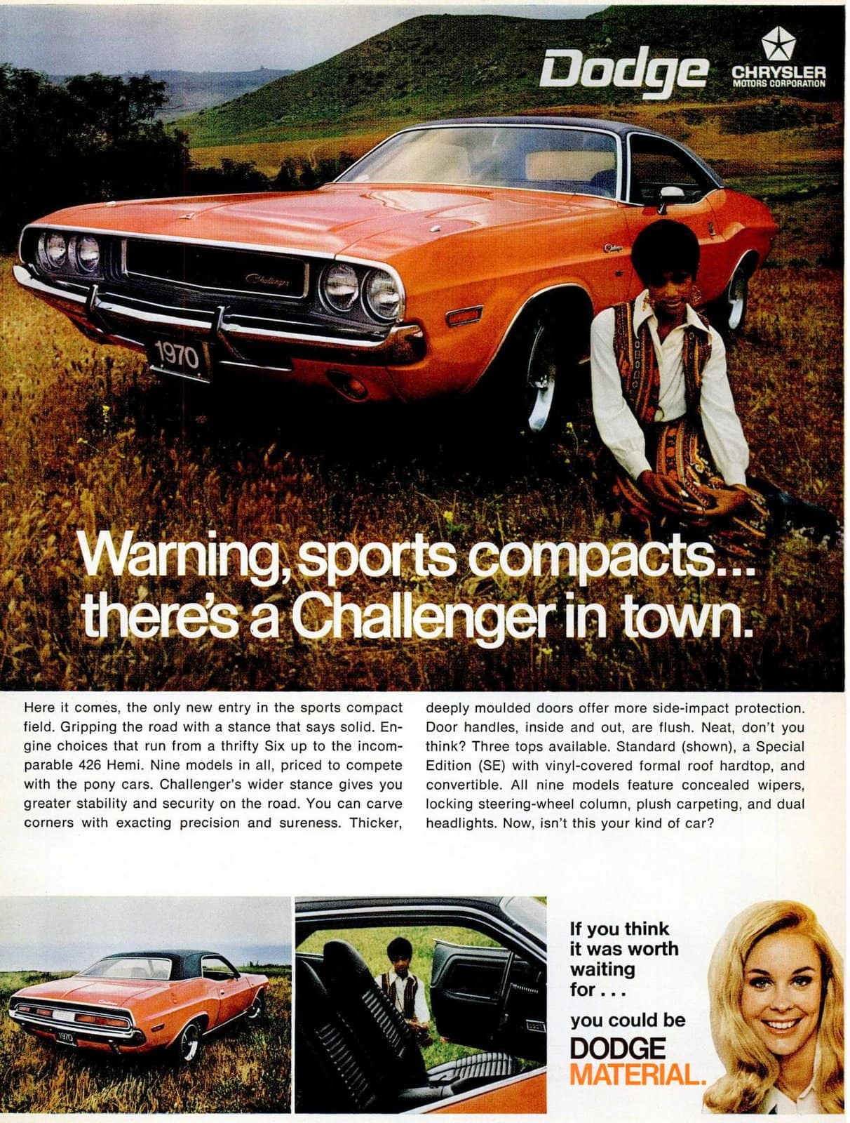 May 1970 Dodge Challenger classic cars