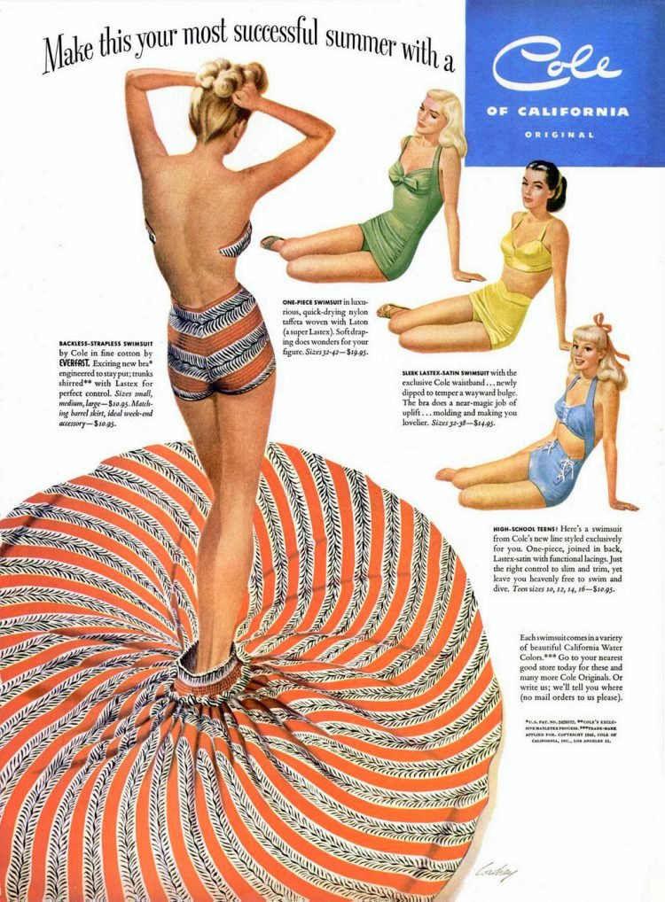 May 24, 1948 Vintage swimsuits by Cole