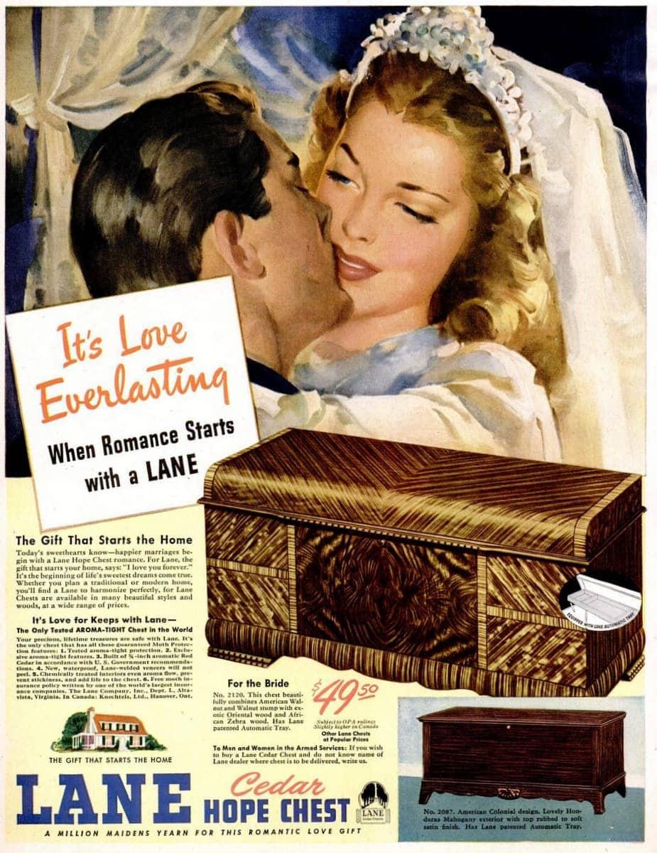 May 27, 1946 bridal