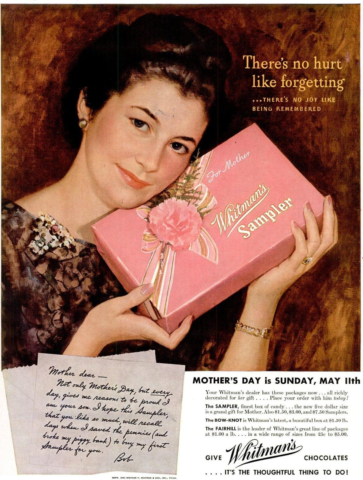May 5, 1941 Mother's Day guilt trip