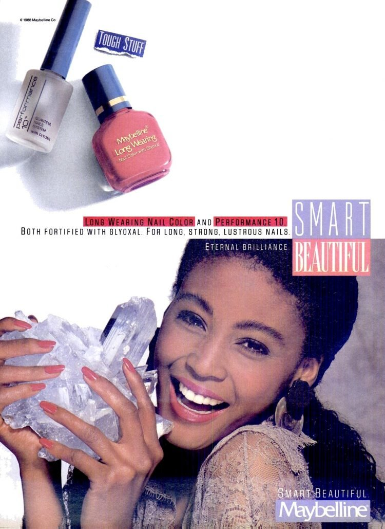 Maybelline Long Wearing nail color and Performance 10 (1989)