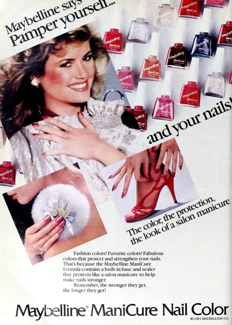 Maybelline ManiCure Nail Color (1983)