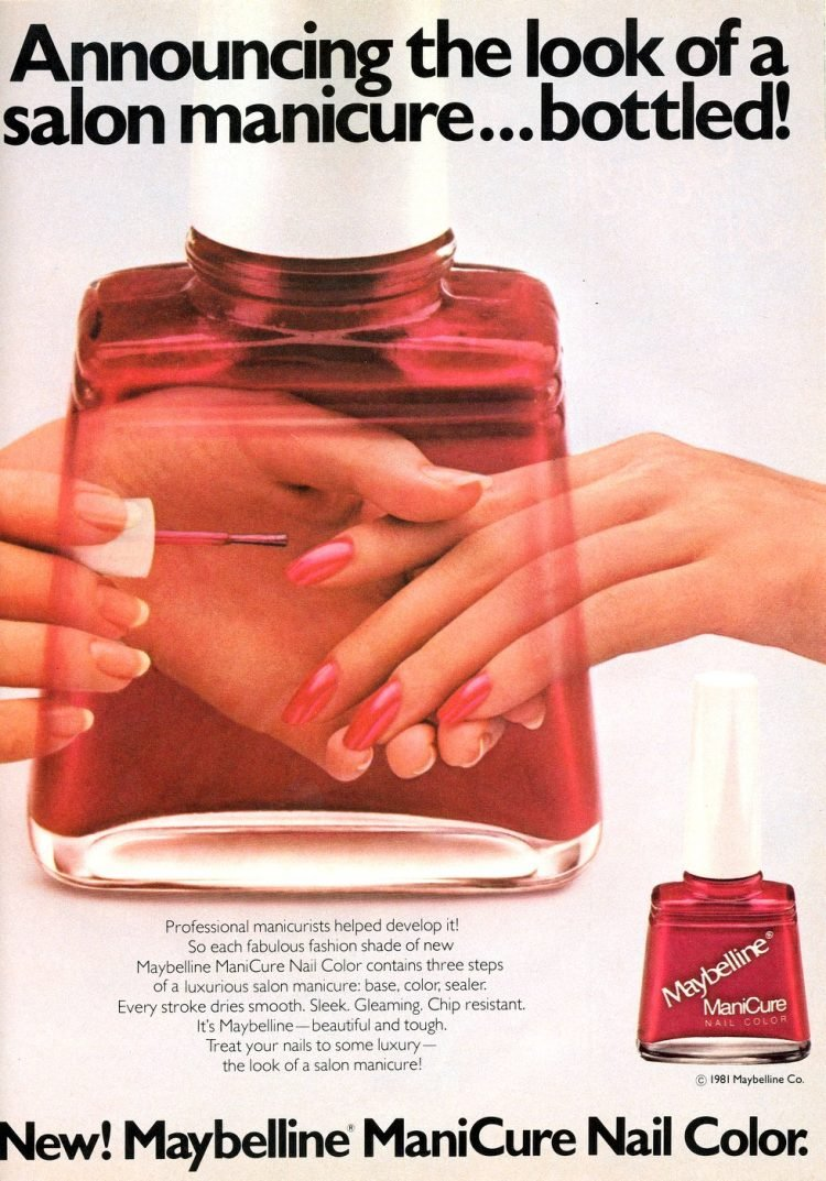 Maybelline ManiCure nail color from 1982