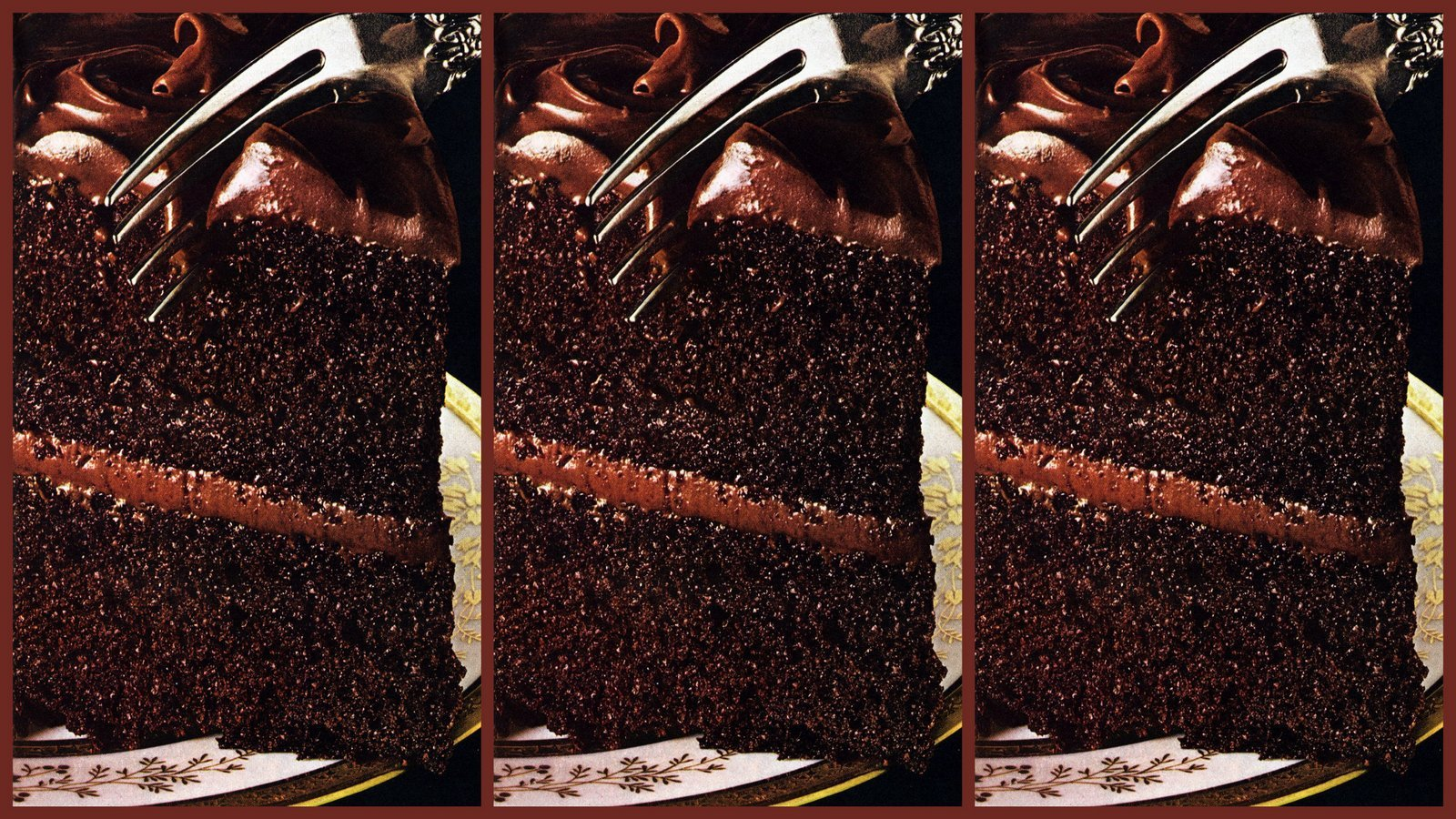 Mayonnaise Chocolate Sensation cake recipe