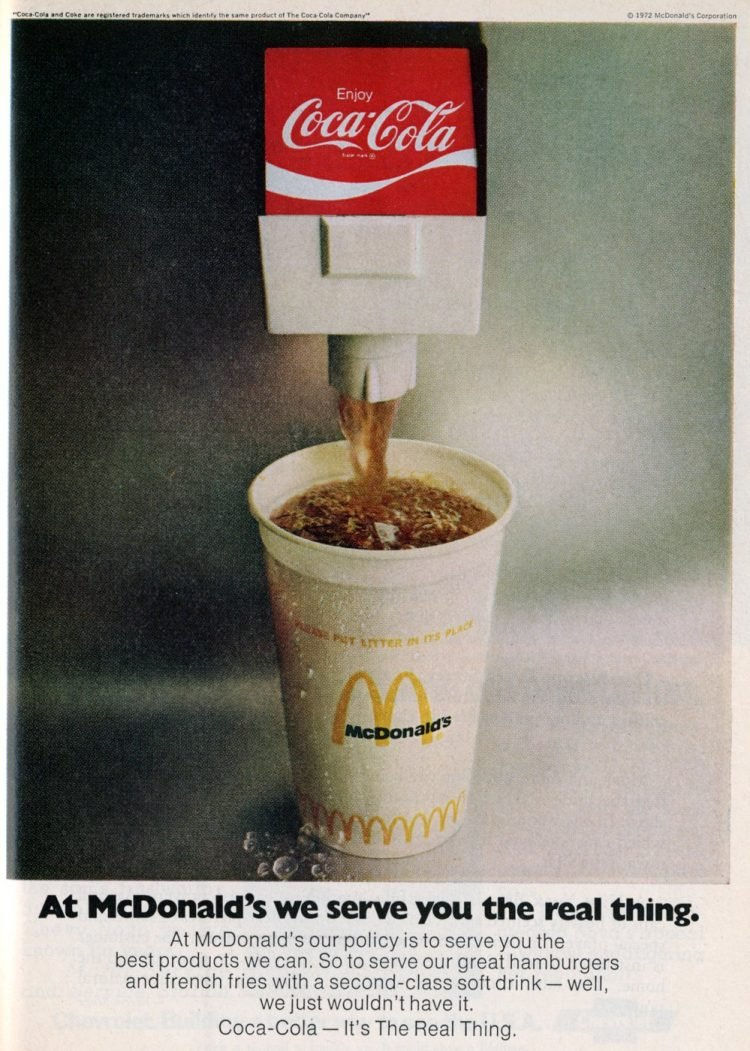 McDonald's drinks in the 70s (2)