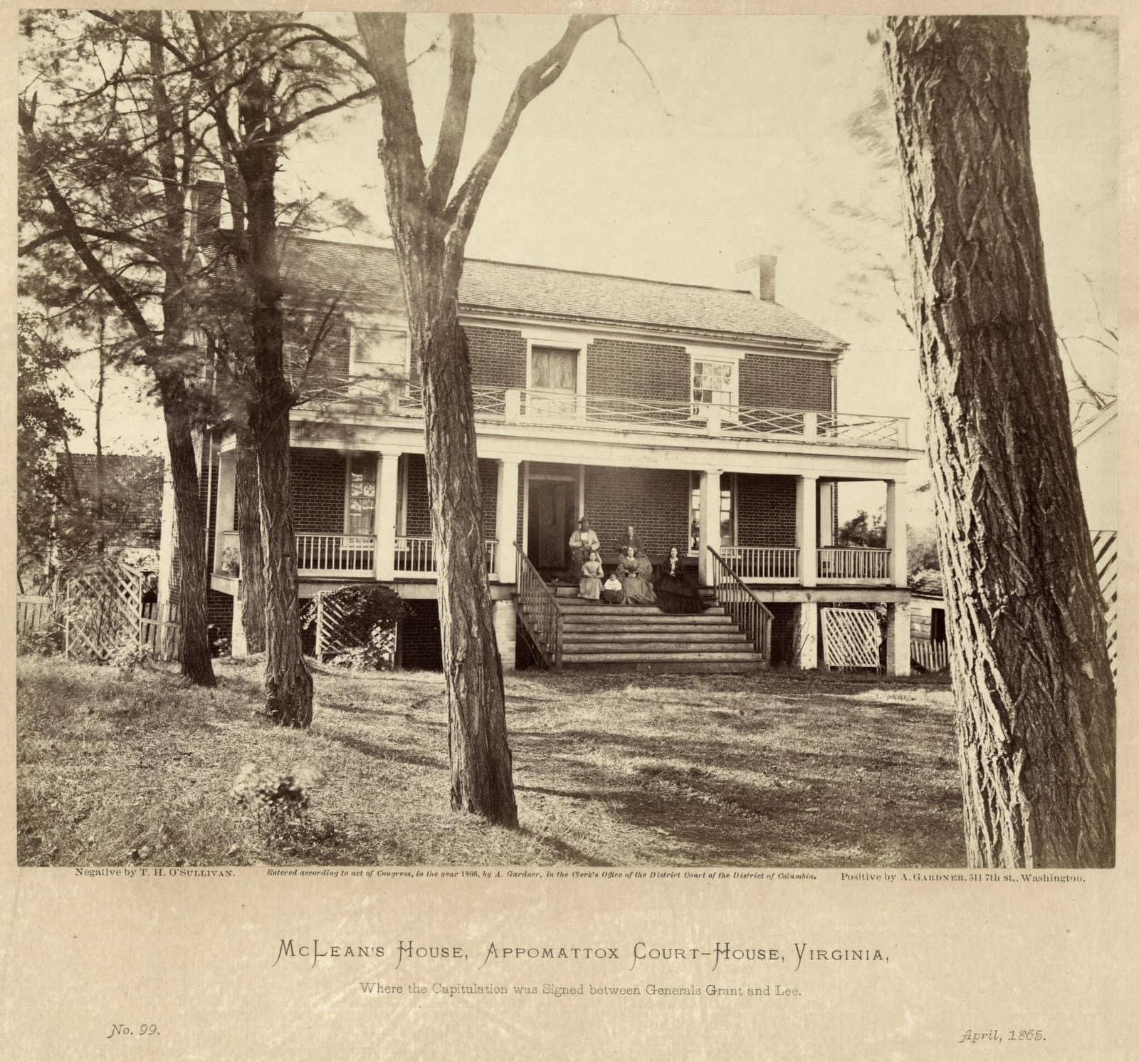 McLeans House - Appomattox Court House, Virginia