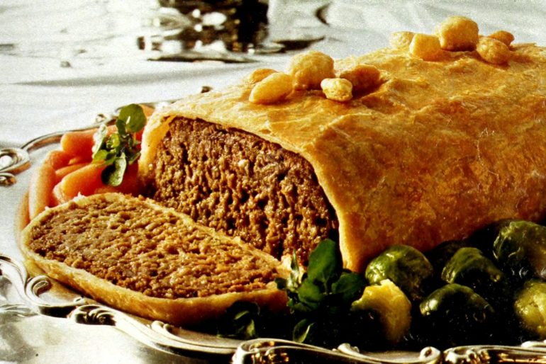 Meatloaf Wellington vintage recipe
