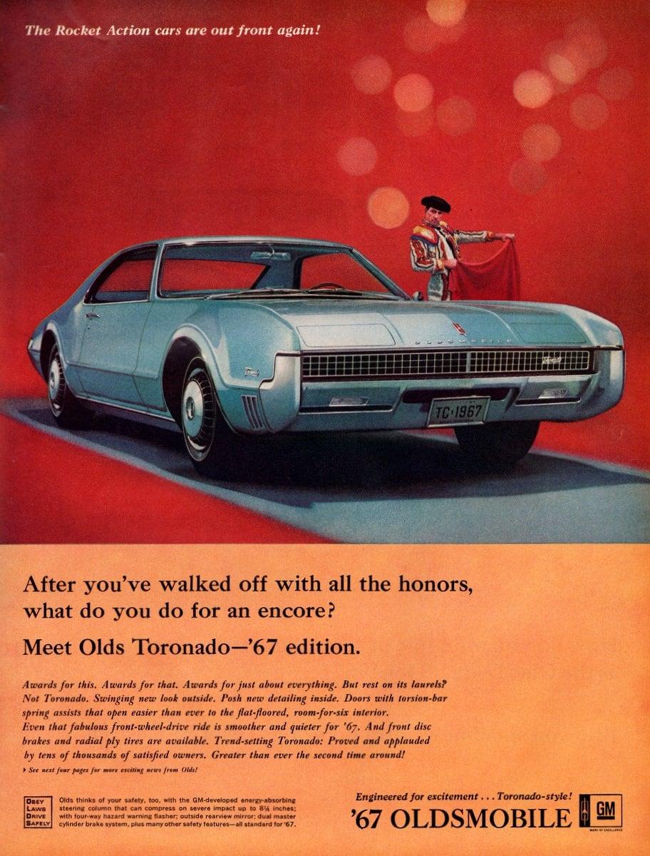 Meet Olds Toronado 67 edition
