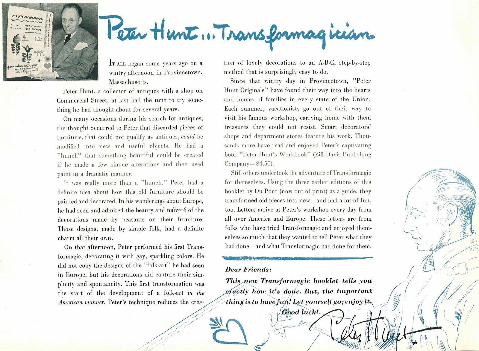 Meet artist Peter Hunt (1949)