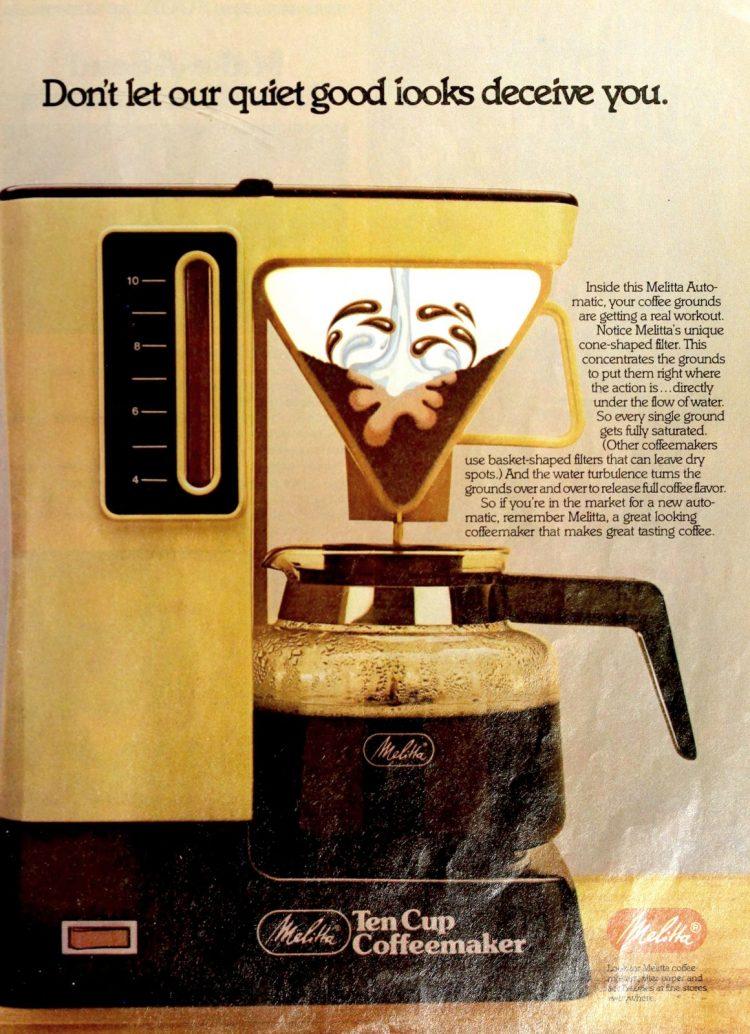 Melitta vintage automatic Ten Cup Coffeemaker (1981)