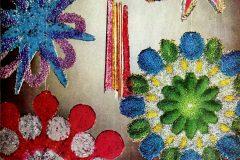 Melted bead suncatchers - Vintage craft project (1)