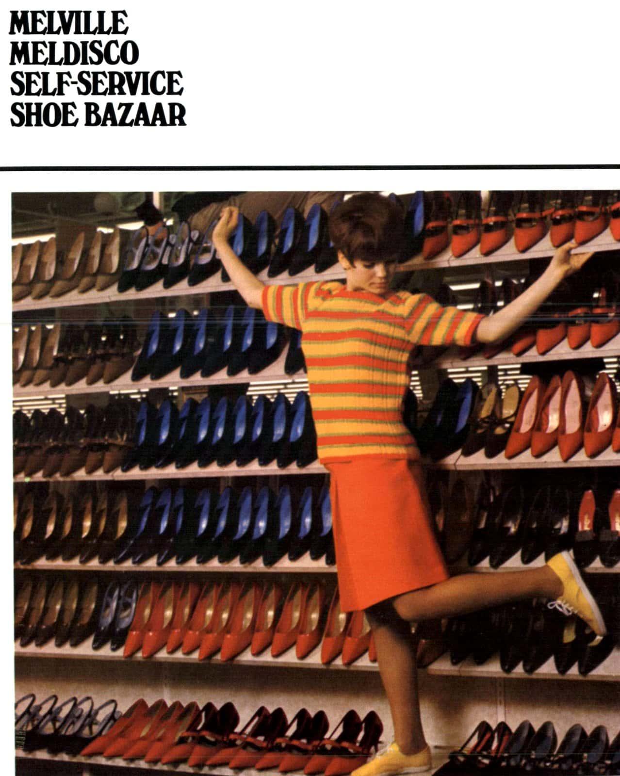 Melville - Meldisco - Self-service shoe bazaar (1966)