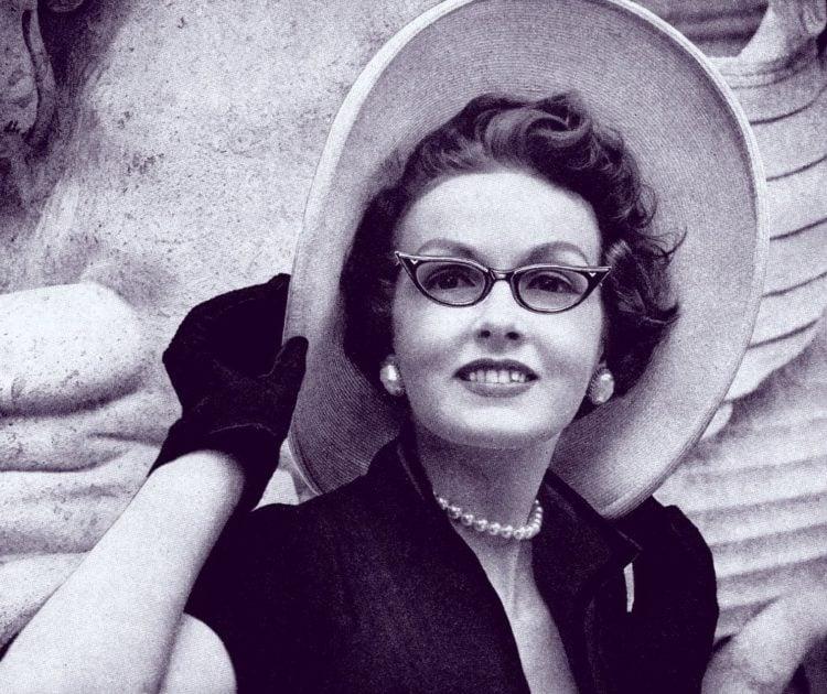 Vintage glasses for women (1953)