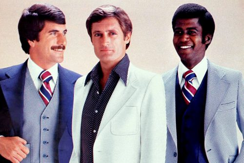 Men in 1970s suits