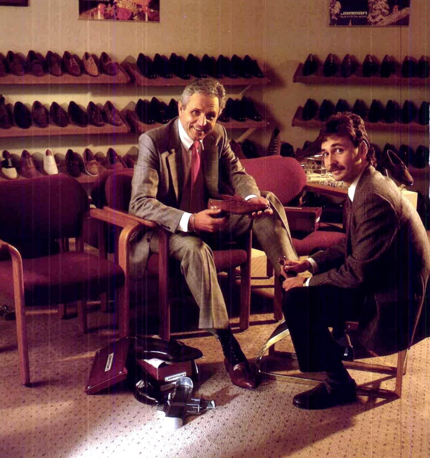Mens's shoe shopping (1989)