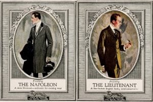 Menswear - Clothes to flatter your body type for him (1916)
