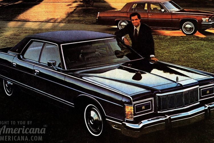 Mercury Marquis beats the Cadillac deVille (1977)