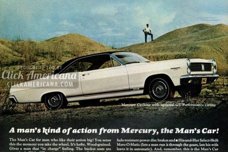 Mercury, the Man's Car (1966)