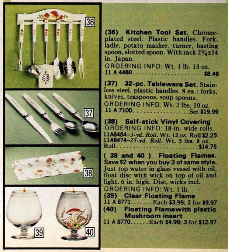 Merry Mushroom kitchen coordinates from the seventies (1)