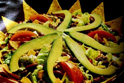 Mexican Chef's salad recipe 1969