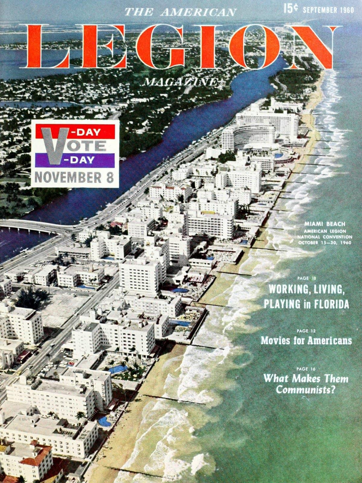 Miami Beach in 1960