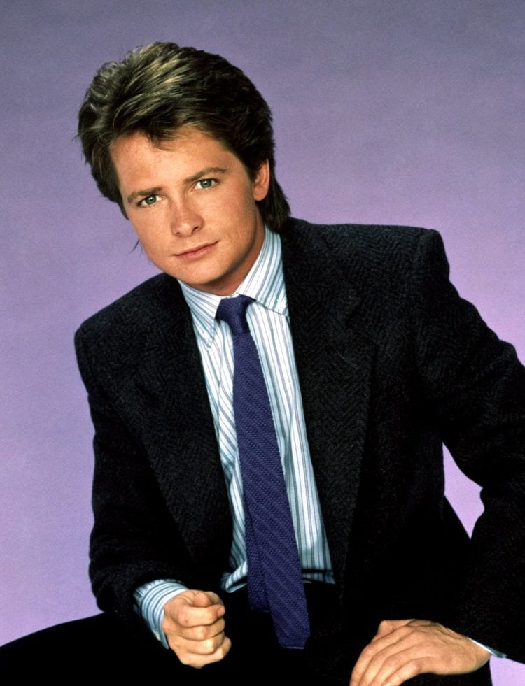 Michael J Fox as Alex P Keaton