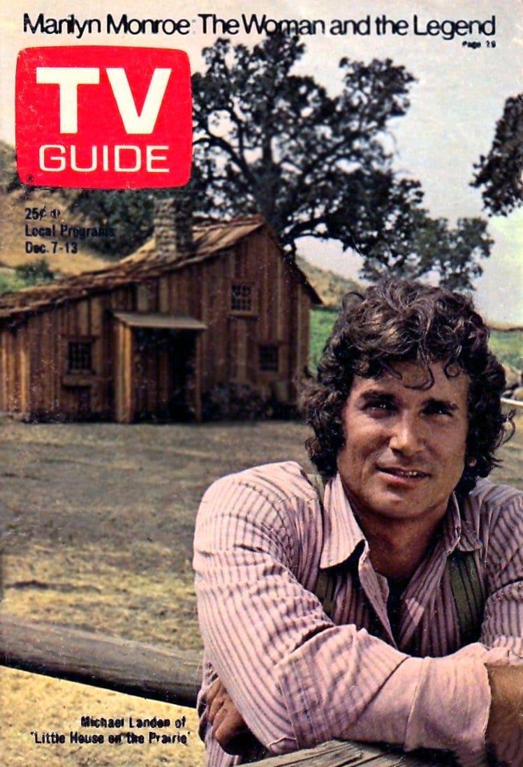 Michael Landon TV Guide cover