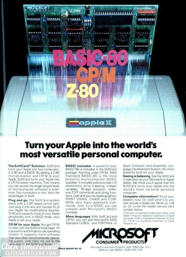 Microsoft's hottest tech from 1982
