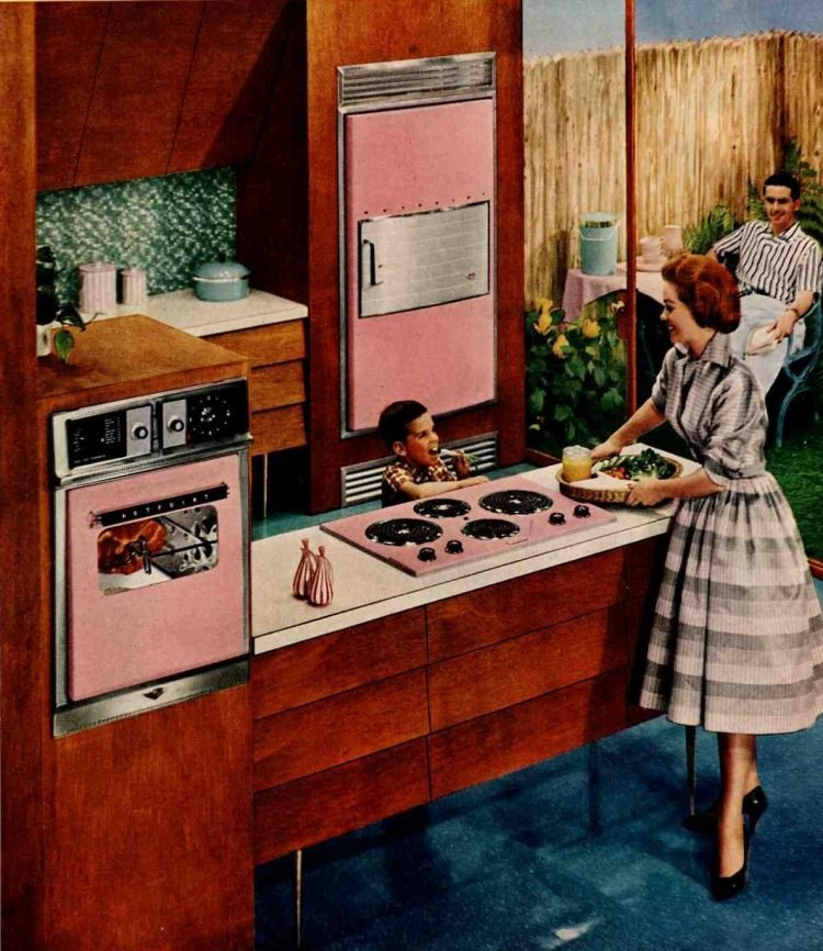 Mid-century kitchen design